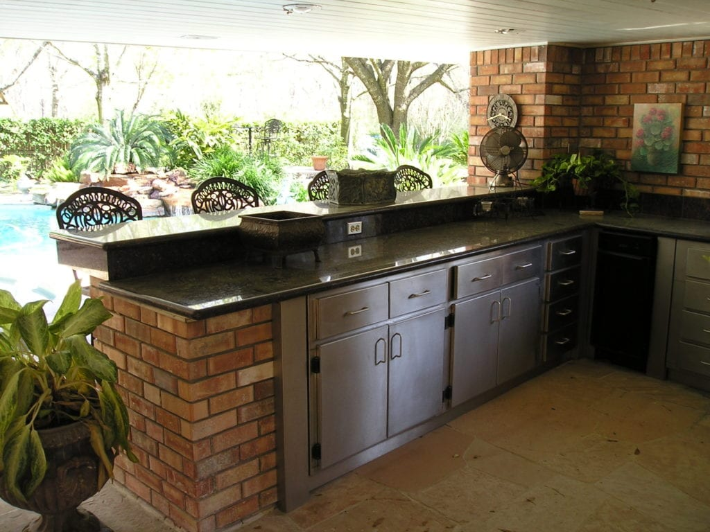 outdoor kitchen - All Star Construction