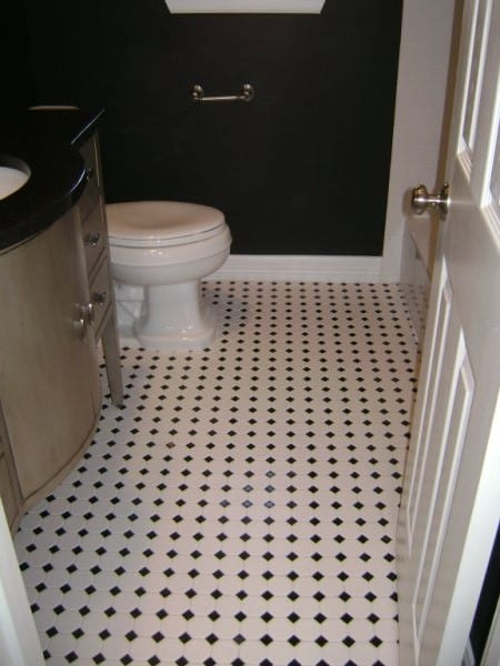 The Powder Room Small But Impactful Bathroom Remodel